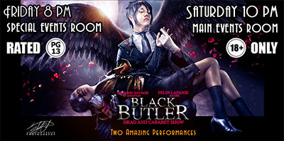 OMNI EXPO 2016 - Black Butler Drag and Cabaret Show!